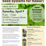 April 9 Seed Flyer